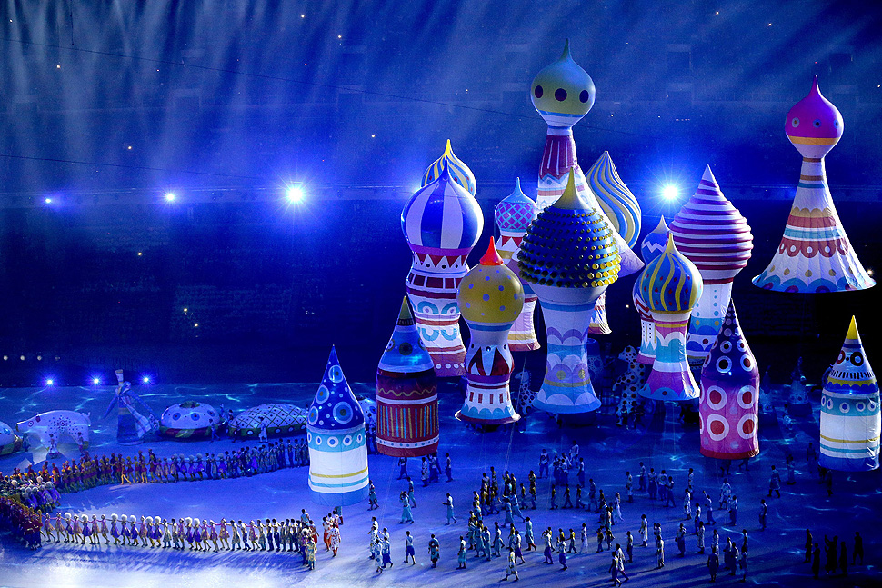 Olympics opening ceremony in Sotchi