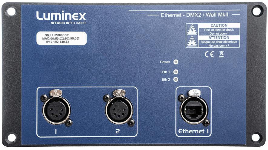 Ethernet-DMX converters   Luminex