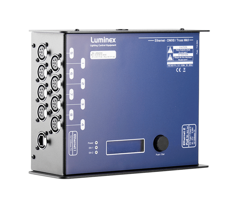 DMX8 Truss | Luminex