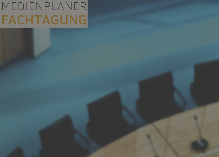 Medienplaner Fachtagung Tagen in Germany