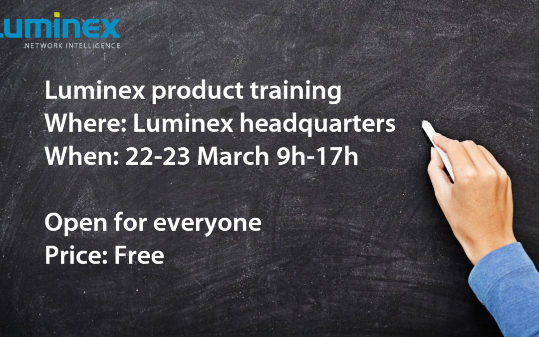 22-23 March: Free product training
