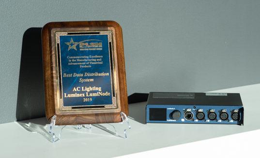 PLSN Awards Luminex's LumiNode – Best Data Distribution System @ LDI show