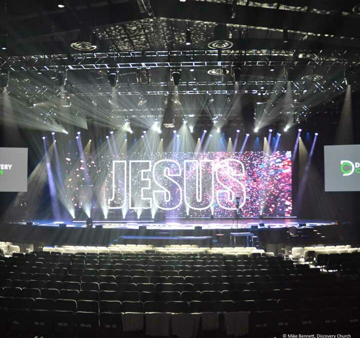 Luminex data distribution technology supports Discovery Church with the implementation of their new worship space