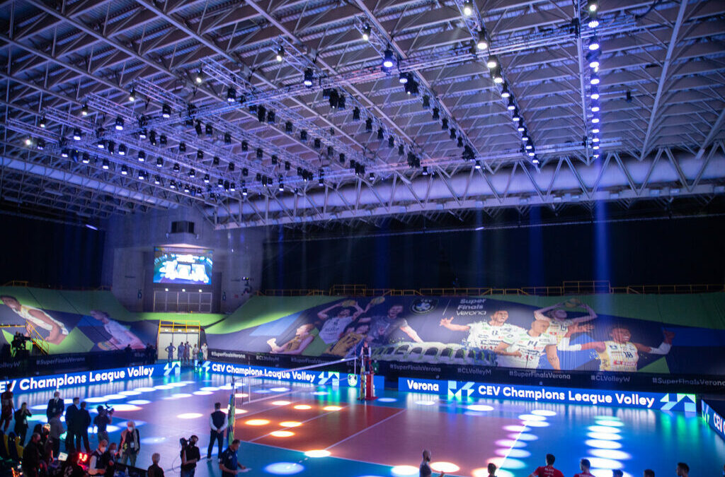 ROBE and Luminex jointly support CEV Champions League Volley 2021