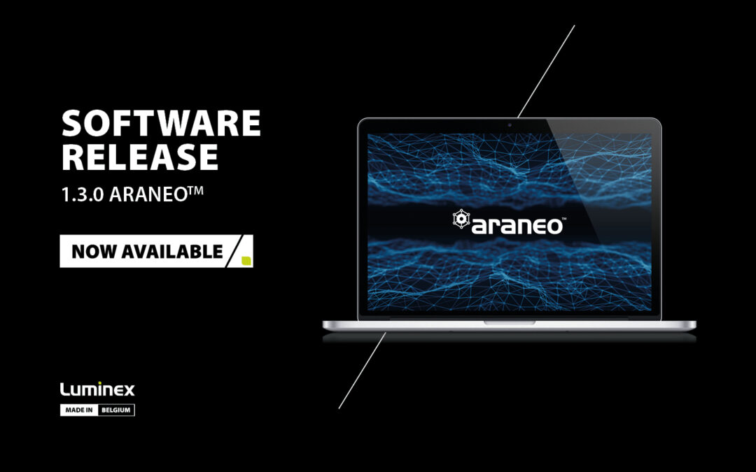 Luminex Releases a New Version of the Araneo Software